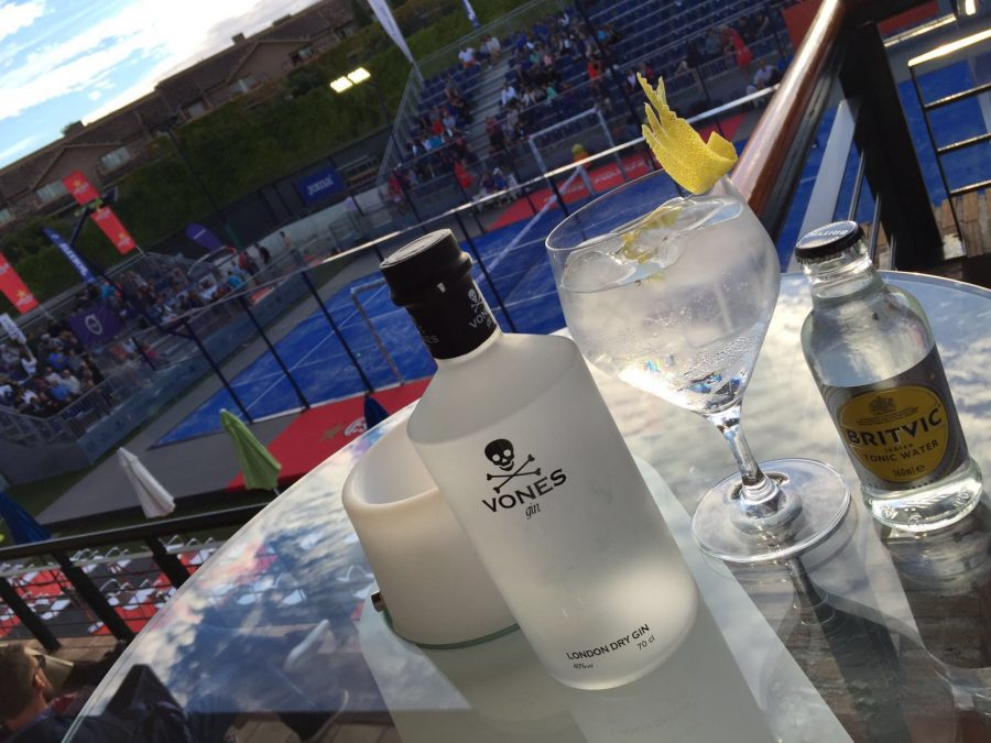 Vones Gin en World Padel Tour Madrid