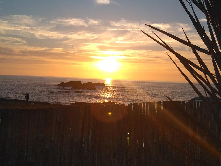 Puesta de sol Asturias